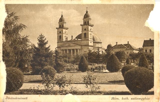 """Satu Mare. Catedrala romano-catolică """"Înălţarea Domnului"""" – iMAGO Romaniae"""